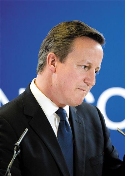 卡梅伦/英国可能退出欧盟因不满容克被提名为欧盟主席