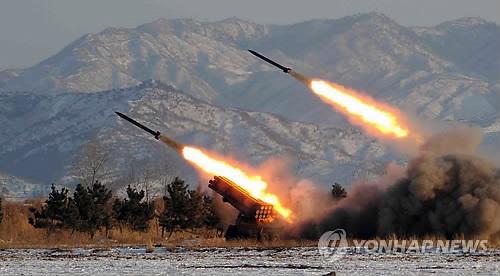 朝鲜向半岛东部海域射2枚导弹 射程500公里