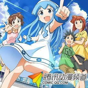 《乌贼娘》将发售两季动画蓝光BOX