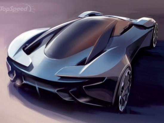 阿斯顿马丁概念车亮相 专为gt6游戏打造高清图片