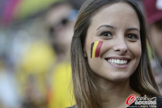 比利时美女球迷
