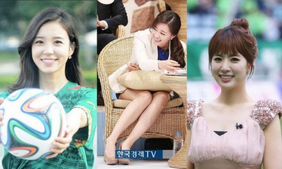 韩美女主播团:环球小姐领衔