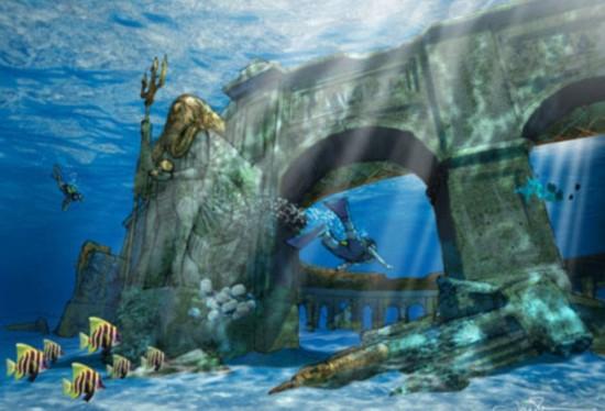 迪拜计划建世界最大水下主题公园