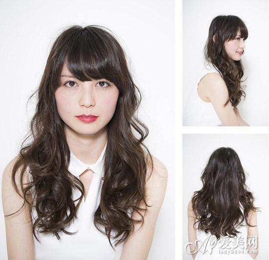 刘海发型图片女 修饰脸型一步到位