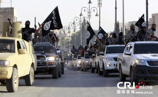"""叙境内伊斯兰极端分子庆祝""""建国"""""""