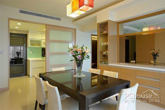 欧式厨房推拉门效果图 让视觉空间扩大一倍【4】