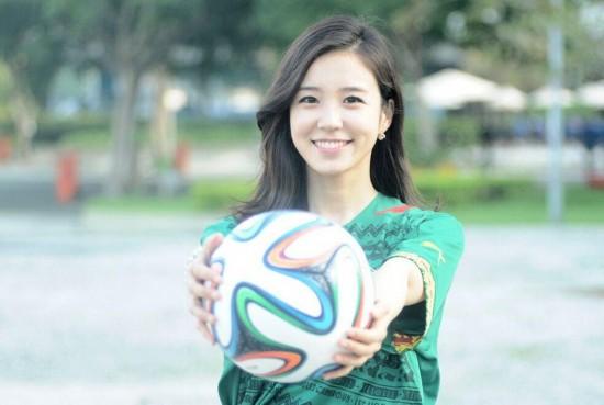 韩90后美女主播世界杯走红