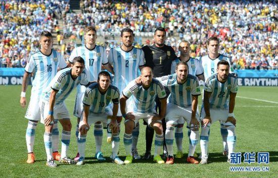 (世界杯)足球――阿根廷队首发阵容