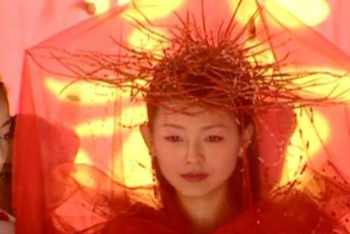 大S版《倩女幽魂》聂小倩-古装剧中让你大跌眼镜的造型 西门大妈年