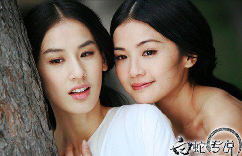 杨幂/黄圣依好像爱上了神话,又亲力亲为的毁了白蛇。