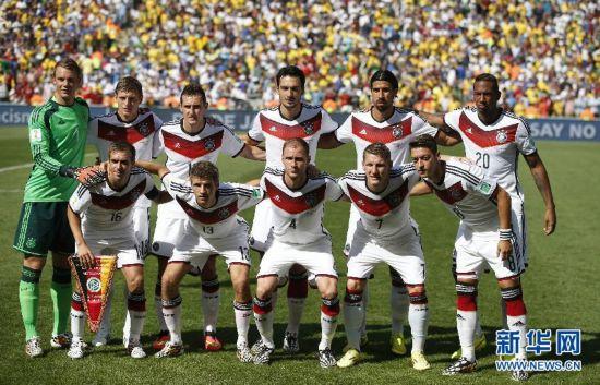 德国队晋级四强