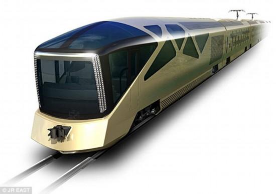 这种用于观光的列车配有宽大玻璃幕墙和顶级卧室,将于2017年春天投入使用。