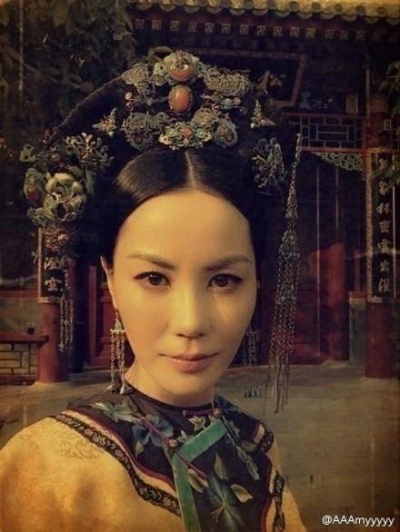 王菲清宫穿越派对