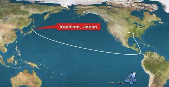 美国男子手机丢失7个月后在日本找到 跨越近万公里(图)