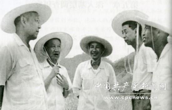 揭秘习仲勋蒙冤复出后主政广东 曾获邓小平鼓励图片