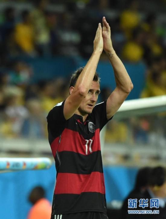 16球破纪录!克洛泽成世界杯历史最佳射手