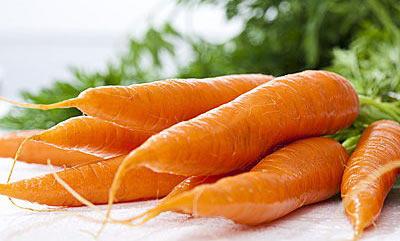 胡萝卜香菇红薯 专家推荐10大天然防癌食物
