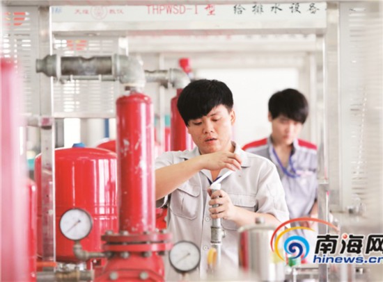 解码海南职业教育现象:就业率连续7年超95%