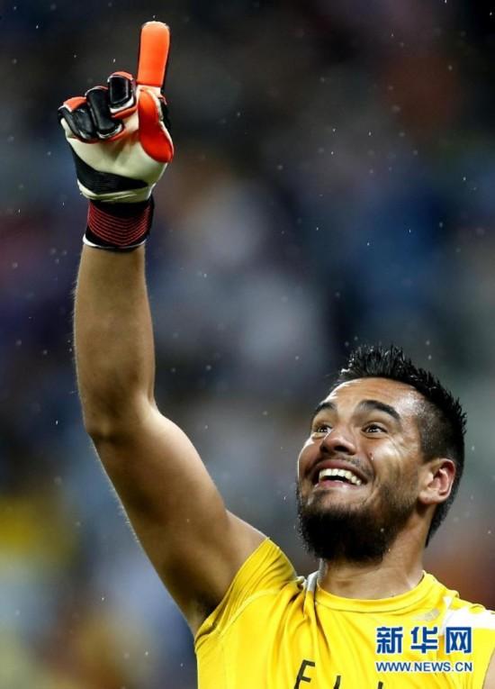 阿根廷点球4-2胜荷兰 门将罗梅罗立功