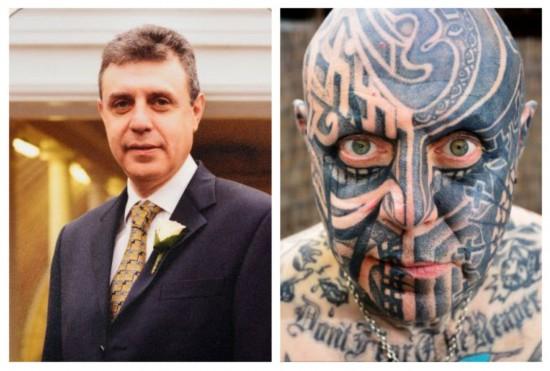 英男子纹身成瘾 花16万再纹新图案【6】