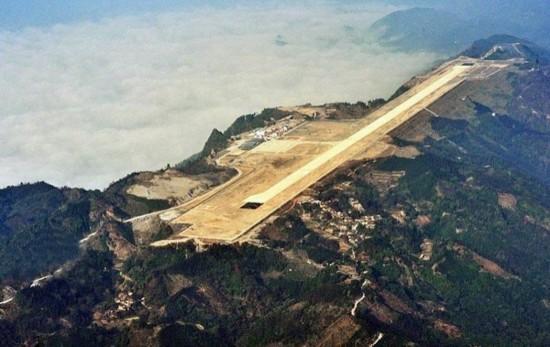 广西河池建山顶机场一小时仅可容纳3个航班