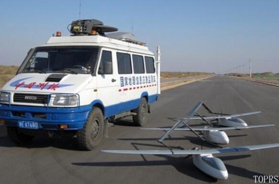 我国研制出超长航时无人机拍回西沙岛礁图像