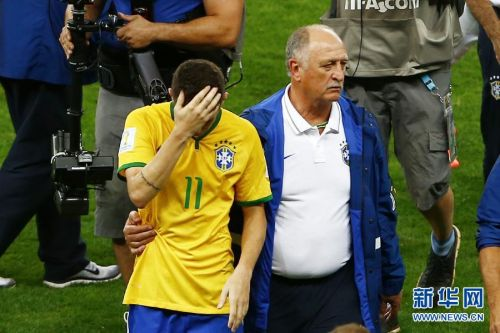 Brazil, one of the 'Top 10 disappointing teams in 2014 World Cup' by China.org.cn