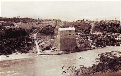 开发初期的石碌铁矿。