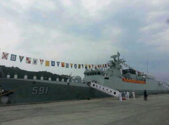 海军两月入役三艘056舰 或掀第二轮服役高潮
