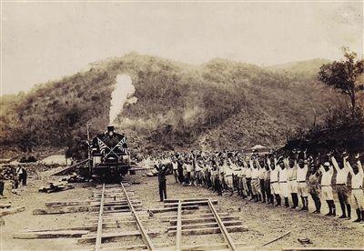 中国国内首次发现日本开发海南石碌铁矿影像