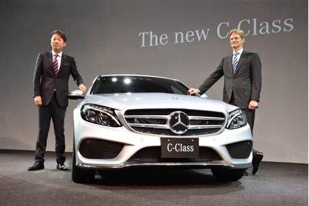 奔驰新一代C级日本首发 约25.6万起