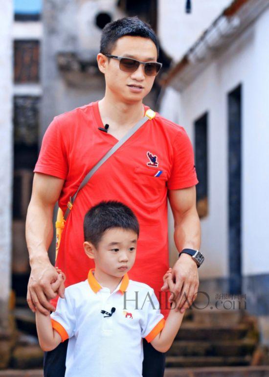 《爸爸去哪儿》第二季-杨威-爸爸去哪儿 第二季 帅爸帅发型大比拼