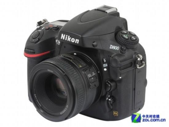 1点密集对焦 尼康D800单机售15800元图片