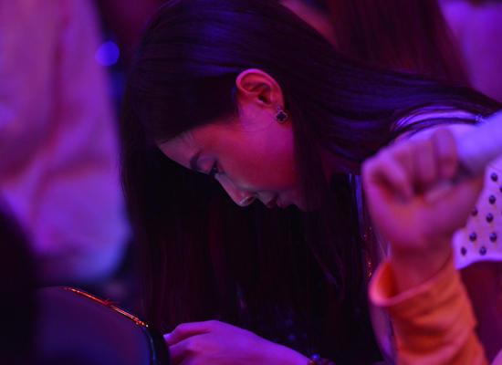 杨坤正牌女友现身《好声音》 亲密照曝光