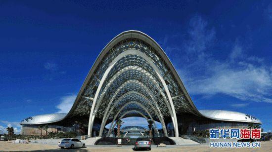 三亚海棠湾国际购物中心将于9月1日试营业