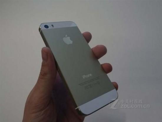iphone 5s金色版机身设计售价4750