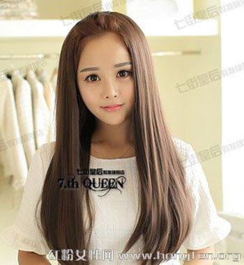 女生时尚长发集锦 清新减龄超甜美图片