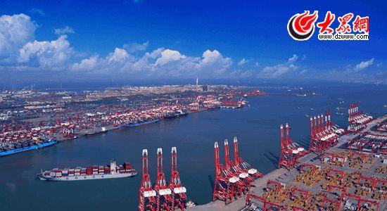 山东怡之航场站_山东省青岛港将打造亚洲最大冷冻冷藏中转港--山东频道--人民网
