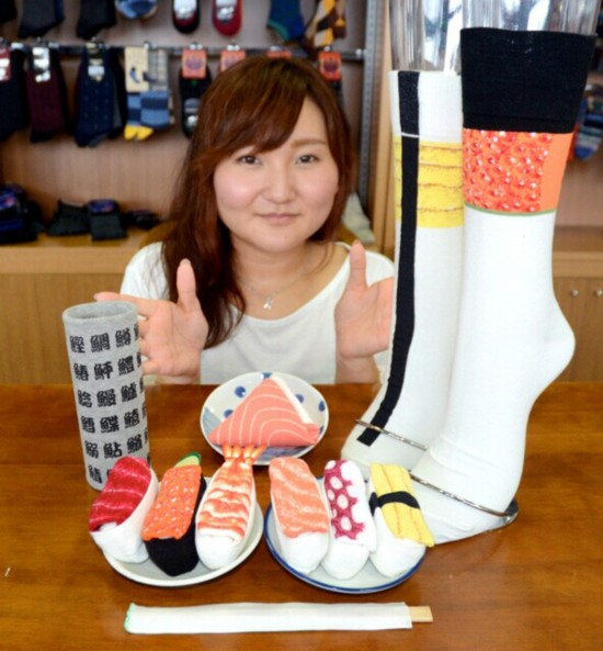 【日本设计创意】可以穿的寿司?日本独特寿司