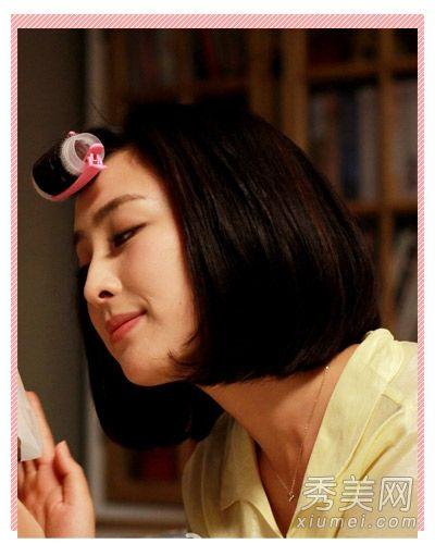 《结婚前铅笔》主演发型马苏爱颜色沙溢爆炸规则灰短发头发图片