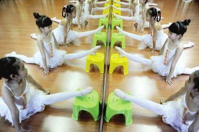 练习舞蹈基本功
