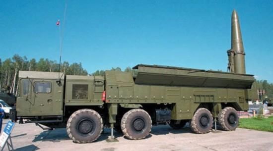 俄媒:俄可能出售中国改进版伊斯坎德尔导弹