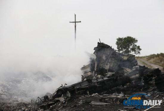 直击马航MH17客机坠毁事件面面观(高清组图)