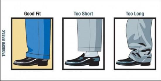西装裤子款式图手绘