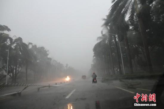 超强台风 威马逊 重创海南广东