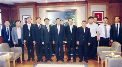 江苏海门市委书记姜龙率团赴台招商考察交流