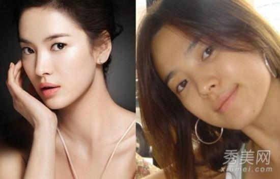 韩国众美女卸妆死 素颜照皮肤有多差?【9】