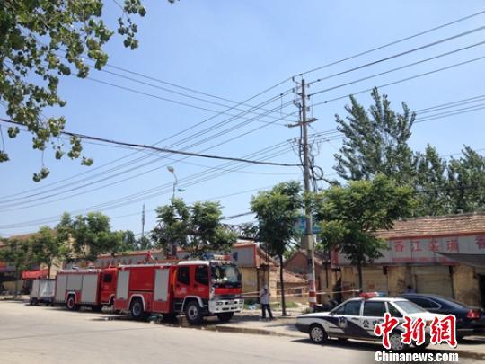 江苏沛县一冷库氨气突然泄漏居民及时疏散幸无伤亡