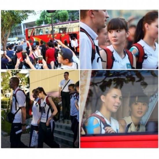 亚洲青年女子排球锦标赛哈萨克斯坦女排的队员altynbekova