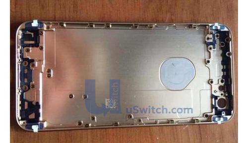 嵌入式设计 iphone 6后壳logo或为指示灯